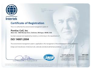 Clarkston ISO14001